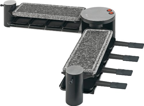wikopo aeg rg 5563 hot stone plus glas raclette 1200 w. Black Bedroom Furniture Sets. Home Design Ideas