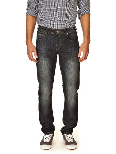 Jeans Matt Navy Best Mountain W28 Men's