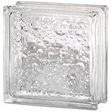Quality Glass Block 8 x 8 x 3 SeaScapes Glass Block