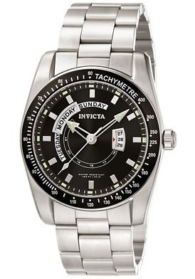 Invicta Men's 5781 II Collection Stainless Steel Tachymeter Bezel Watch