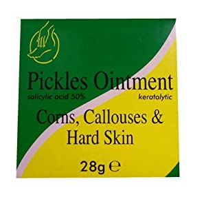 Pickles Foot Ointment for Corns, Callouses & Hard Skin 1oz
