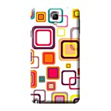 Garmor Seamless Colorful Design Plastic Back Cover For Samsung Galaxy Note 3 Neo SM-N750 (Seamless Colorful - 4)
