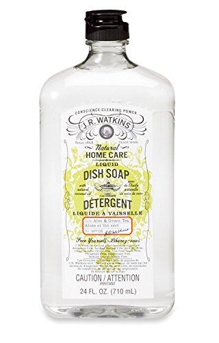 J.R. Watkins Liquid Dish Soap, Aloe and Green Tea, 24 Fluid Ounce (Watkins Dish compare prices)