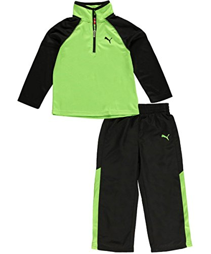 "Puma Little Boys' Toddler ""Speeding Glow"" 2-Piece Outfit"
