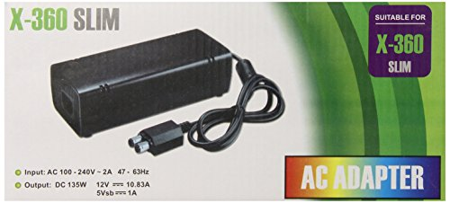 Gen AC Adapter Power Supply Cord for Xbox 360 Slim (Ac Power Supply For Xbox 360 compare prices)