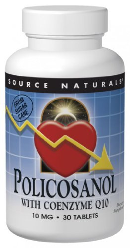 Source Naturals Policosanol with Coq10, 30 Tablets by Source Naturals (Coq10 Source Naturals compare prices)