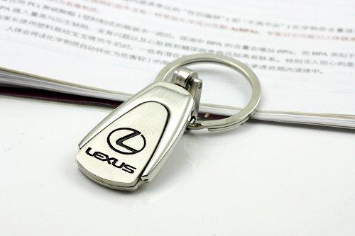 kezi-4s-car-logo-keychain-trapezoid-alloy-electric-bright-nickel-for-lexus