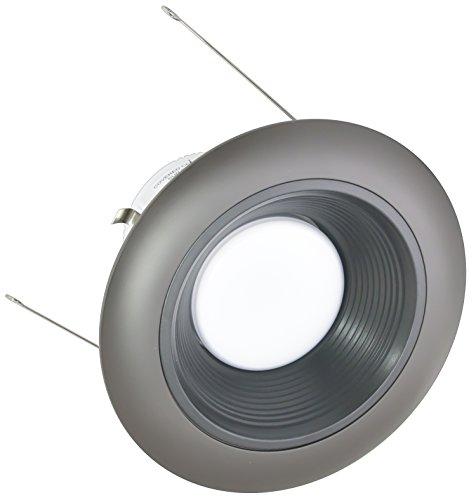 American Lighting X6-Bkb-Db-X56 6-Inch Downlight Trim Kit For X56 Series, Black Baffle, Dark Bronze Trim