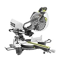 Ryobi ZRTSS102L 13 Amp 10 in. Sliding Compound Miter Saw with Exactline Laser