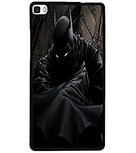 ColourCraft Scary Eyes Design Back Case Cover for HUAWEI P8