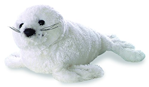 Aurora Plush Harp Seal Mini Flopsie 8""
