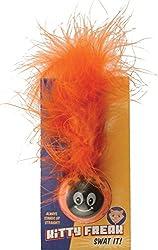 Pet Sport USA Kitty Freak Ladybug Cat Toy (Colours may vary)