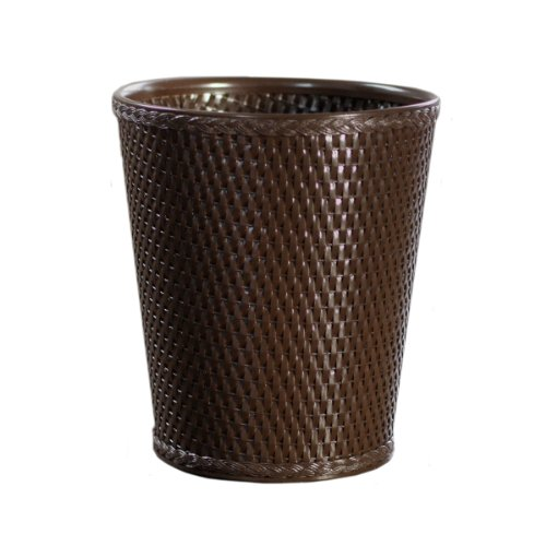 Lamont home carter round wicker waste basket from lamont limited at the repo furniture store - Rattan waste basket ...