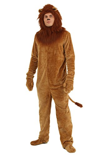 Adult Deluxe Lion Costume - XL