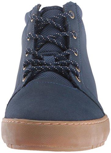 Lacoste Women's Ampthill Chukka 416 1 Spw Fashion Sneaker, Navy, 7 M US