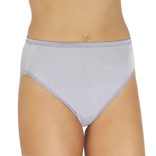 Vanity Fair Women's Body Shine Illumination Hi-Cut Brief Pan