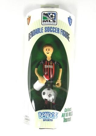 Picture of Bendos Sports MetroStars Bendable Soccer Figure (B005DMP0JQ) (Bendos Sports Action Figures)