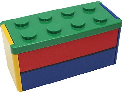 ブロックタイト 2段ランチ グリーン PN-2052-240