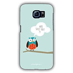 Designer Phone Covers - Samsung S6 Edge-owlbranch