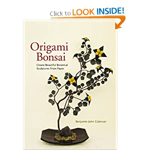 Click to buy W Origami Bonsai: Create Beautiful Botanical Sculptures From Paper from Amazon!