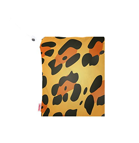 NUBY Washable Wet Bag, Leopard - 1