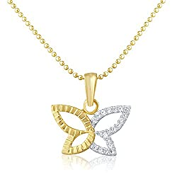 Mahi Gold Plated Cubic Zirconia Studded Mangalsutra For Women -Gold