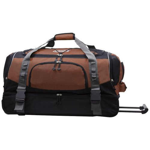 "Coleman Luggage Tracker 30"" Drop-Bottom Rolling Duffel Bag"