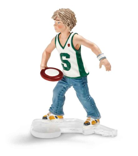 Schleich Boy with Frisbee - 1