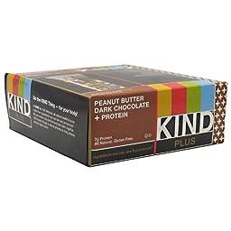 Kind Plus, Peanut Butter Dark Chocolate + Protein