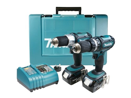 Makita LXT232 18v Cordless Combo Kit 2pc 18v Li-Ion