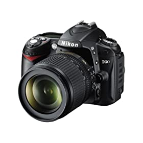 Nikon D90 12.3MP DX-Format CMOS Digital SLR Camera
