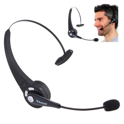 Bluetooth Wireless Game Headset Mic For Sony Playstation 3 Ps3 / Playstation 3 Slim