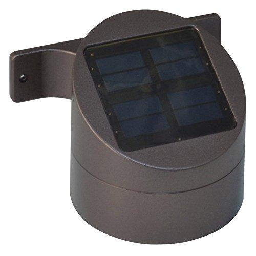 Moonrays Premium Output Solar Powered LED Wall Mount Deck Sc