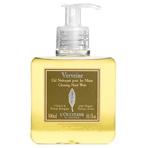 ''L'Occitane Cleansing Verbena Liquid Hand SOAP with Organic Verbena Extract, 10.1 fl. oz.''