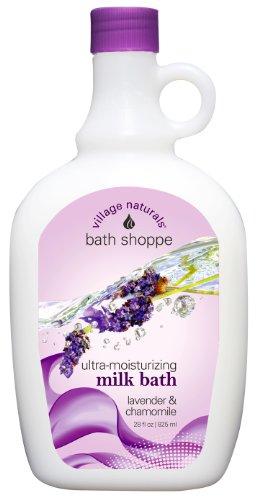 Village Naturals Bath Shoppe Lavender & Chamomile Foaming Milk Bath 28 fl oz.(Pack of 1)