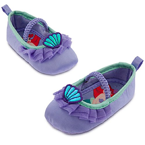 Disney - Ariel Costume Shoes for Baby- Size 6-12 Months - New