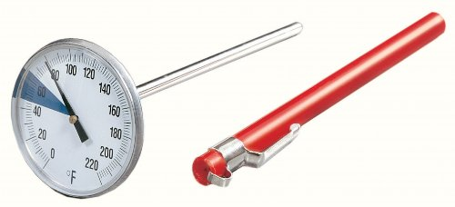 Fox Run Stainless Steel Instant Read Thermometer with Large Dial