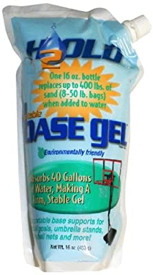 Basketball Hoop Portable Bases BG-1601 H2Old 16oz Polymer BaseGel Fill
