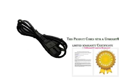 """Upbright® New Ac Power Cord For Sharp Aquos Lc13B2 Lc13B2U Lc13B2Ua Qaccd3097Cepa Lc-13B2Ub Lc22Sv6U Lc-26Dv20U 26"""" Liquid Crystal Tv Lc-32Bd60U Liquid Crystal Tv Lc-26Sh12U Lc-26Sh10U 26"""" Tv Hd Tv Lcd Television Series Outlet Plug Cable Lead (Note: This"""