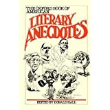 The Oxford Book of American Literary Anecdotes