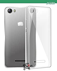 Soft Silicone TPU Jelly Transparent Crystal Clear Case Soft Back Case Cover For Micromax Canvas Spark 2 Q334 Spark2