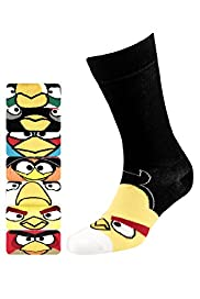 7 Pairs of Cotton Rich Assorted Angry Birds™ Socks