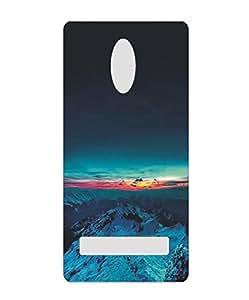 Techno Gadgets Back Cover for Lenovo A6600