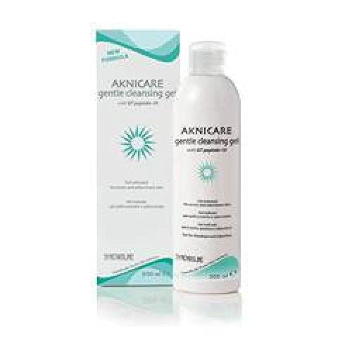 aknicare gentle cleansing gel detergente delicato per pelli acneiche e seborroiche