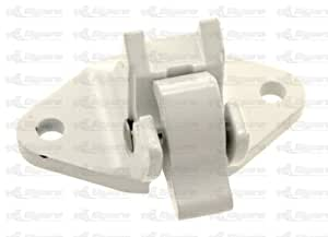 Dometic Sunchaser Polar White Bottom Awning Bracket Assembly