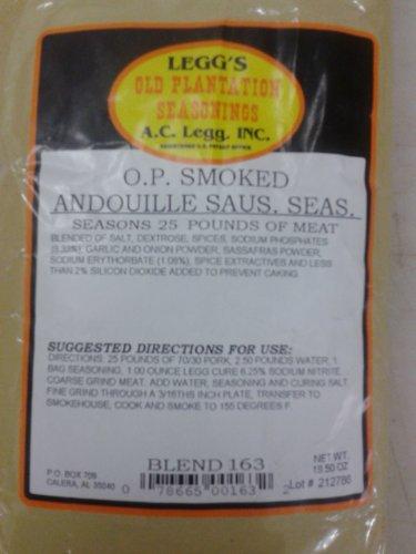 Leggs Old Plantation O.P.Smoked Andouille Sausage Seasoning (Ac Leggs Sausage Seasoning compare prices)