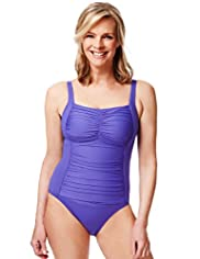 Post Surgery Tummy Control Ruched Swimsuit
