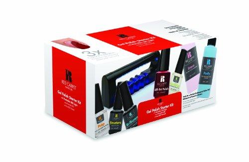 Red Carpet Manicure Starter Kit With Portable Led Light