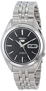 "Seiko Men's SNKL23 ""Seiko 5"" Stainless Steel Automatic Casual Watch"