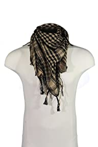 BDP Arab Shemagh Scarf, houndstooth scarf, head scarf -12 colors-LIFETIME WARRANTY!